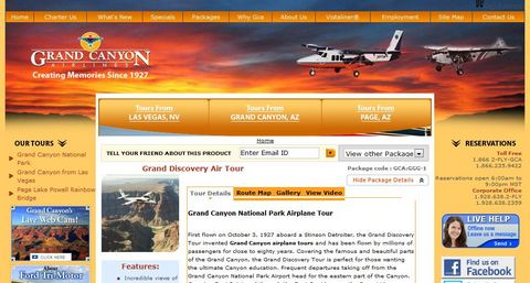 Grand Canyon Airlines HP